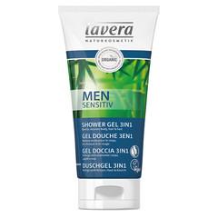 Lavera Men Sensitiv mannen douchegel/shower gel 3 in 1 (200 ml)