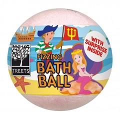 Treets Bath ball with surprise boy/girl (1 stuks)