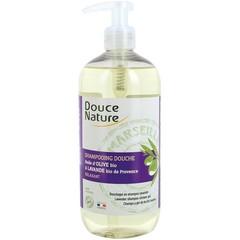Douce Nature Douchegel & shampoo lavendel (500 ml)