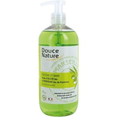 Douce Nature Badschuim & douchegel ijzerkruid verbene (500 ml)