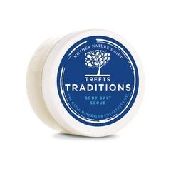 Treets Revitalising ceremonies salt scrub mini (125 gram)