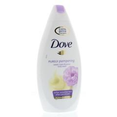 Dove Shower zoete creme & pioenroos (400 ml)