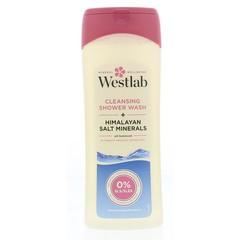 Westlab Douchegel himalaya zout reinigend (400 ml)