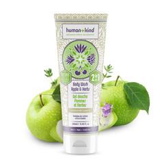 Human+Kind 2 in 1 Bodywash apple herbs vegan (250 ml)
