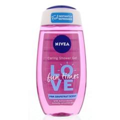 Nivea Douche love fun times (250 ml)