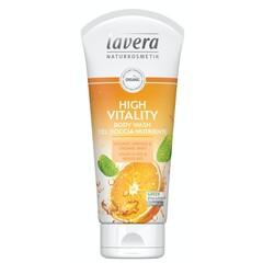 Lavera Douchegel/body wash high vitality (200 ml)