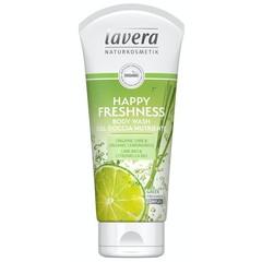 Lavera Douchegel/body wash happy freshness (200 ml)