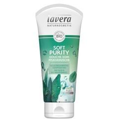 Lavera Douchegel/body wash soft purity F-D (200 ml)