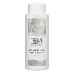 Therme Zen white lotus bath & shower (500 ml)