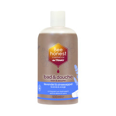 Traay Bee Honest Bad / douche lavendel / sinaasappel (500 ml)