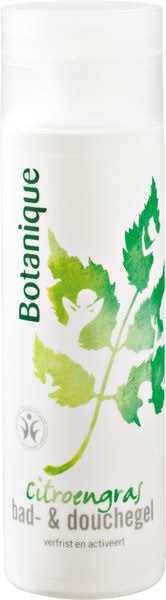 Botanique Botanique Citroengras bad & douchegel (200 ml)