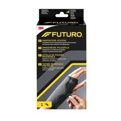 Futuro Polsspalk omkeerbaar aanpasbaar zwart (1 stuks)