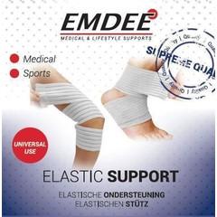 Emdee Elastische band 5 x 112 cm smal wit (1 stuks)
