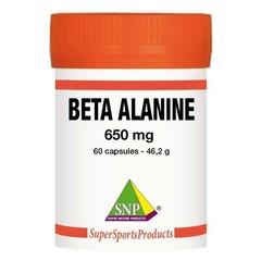 SNP Beta alanine 650 mg puur (60 capsules)