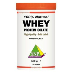 SNP Whey proteine isolate 100% natural (500 gram)