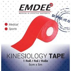 Emdee Kinesio tape rood non cut (1 rol)