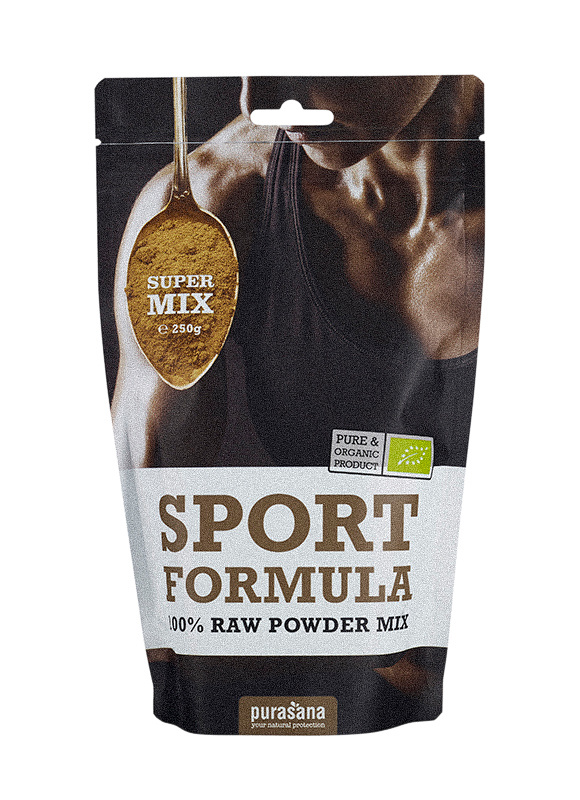 Purasana Sport formula mix poeder bio (250 gram)