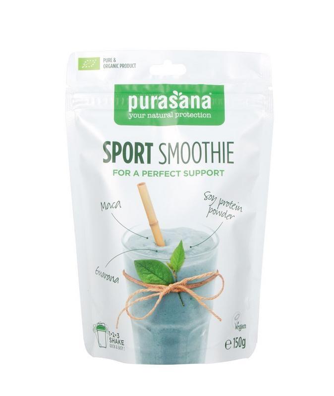 Purasana Sport smoothie bio vegan (150 gram)