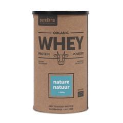 Purasana Whey proteine naturel bio (400 gram)