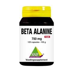 SNP Beta alanine 750 mg puur (120 capsules)