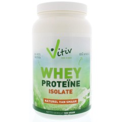 Vitiv Whey proteine isolaat (500 gram)