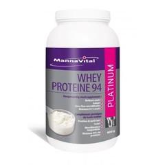 Mannavital Whey proteine platinum (900 gram)
