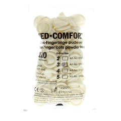 Med Comfort Vingercondoom latex M 3 (100 stuks)