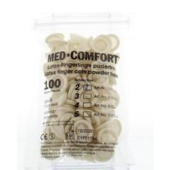 Med Comfort Vingercondooms latex small 2 (100 stuks)