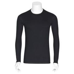 Best4Body Verbandshirt zwart M/V lange mouw S (1 stuks)