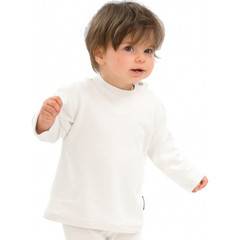 Best4Body Verbandshirt kind wit lange mouw 80 (1 stuks)