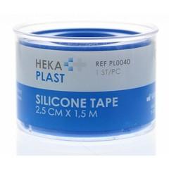 Hekaplast Silicone tape ring 1.5mx2.5cm (1 stuks)