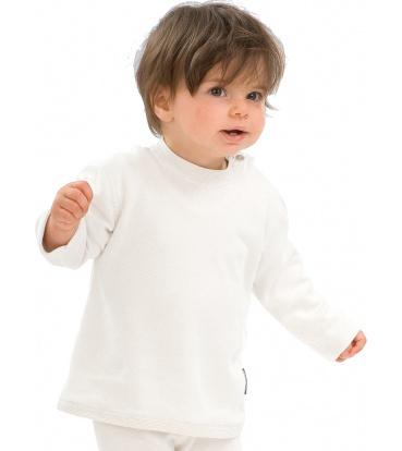 Best4Body Best4Body Verbandshirt kind wit lange mouw 68 (1 stuks)