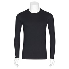 Best4Body Verbandshirt zwart M/V lange mouw XXL (1 stuks)