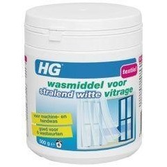 HG Wasmiddel voor stralend witte vitrage (500 gram)