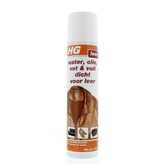 HG Water olie vuil lederspray (300 ml)