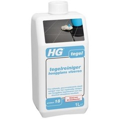 HG Streeploos tegelreiniger hoogglans 18 (1 liter)