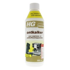 HG Ontkalker espresso & padkoffieapparaat citroenzuur (500 ml)