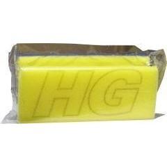 HG Sanitairspons blauw/geel (1 stuks)
