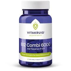 Vitakruid B12 Combi 6000 met folaat & P-5-P (60 tabletten)