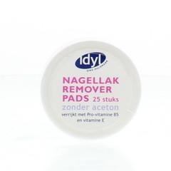 Idyl Nagellak remover pads (25 stuks)