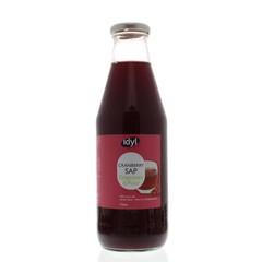 Idyl Cranberrysap ongezoet (750 ml)