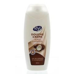 Idyl Douchecreme kokos & amandel (300 ml)