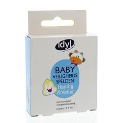 Idyl Baby veiligheidsspelden 5.5 cm (6 stuks)