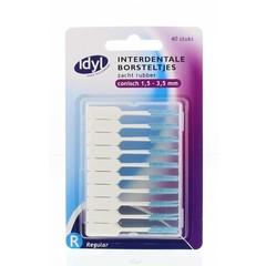 Idyl Interdentaal borstel zacht rubber (40 stuks)