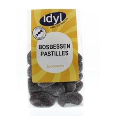 Idyl Bosbessenpastilles (140 gram)