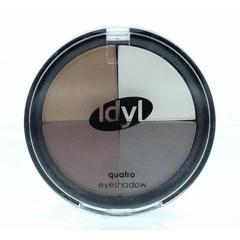Idyl Eyeshadow quatro CES 105 bruin/grijs/wit (1 stuks)