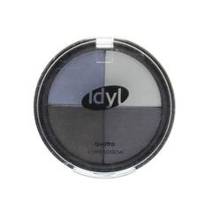 Idyl Eyeshadow quatro CES 101 grijs/blauw (1 stuks)
