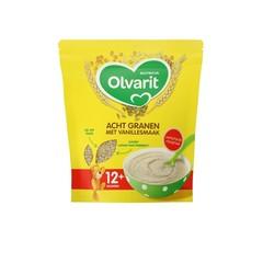 Ontbijtpap 8 granen vanille 12+ maanden