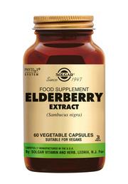 Solgar Elderberry Extract Vlierbes 60 plantaardige capsules