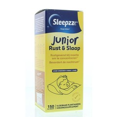 Sleepzz Rust en slaapsiroop junior (150 ml)